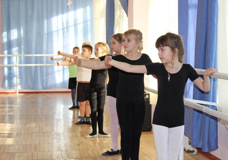 На хореографическом отделении