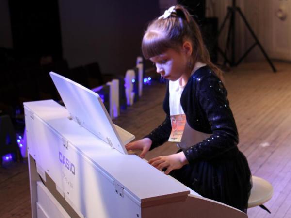 На фортепианном отделении