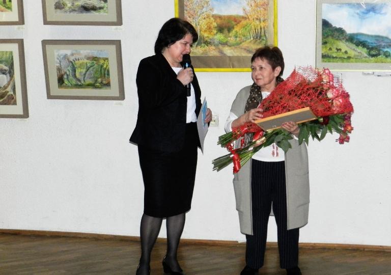 Выставка А.И. Кузьменко и ее учеников